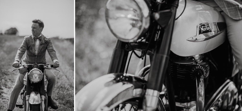 Österlen Skåne motorcykel
